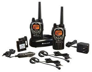 Midland - GXT1000VP4, 50 Channel GMRS Two-Way Radio - Up to 36 Mile Range Walkie Talkie