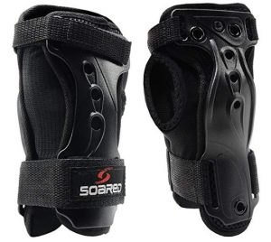 soaReD Skating Skateboard Skiing Snowboard Impact Wrist Guard Protective Gear Gloves
