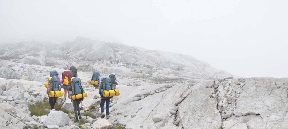 backpacking in cold weather
