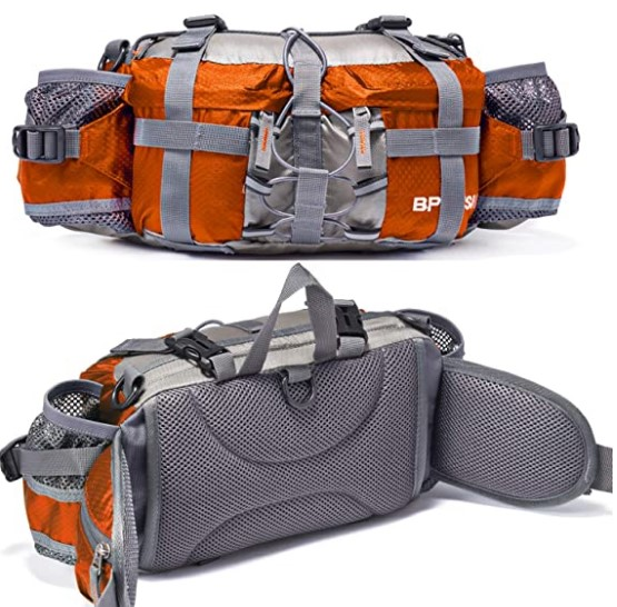 Bp Vision Outdoor Fanny Pack Hiking Camping Fishing Waist Bag