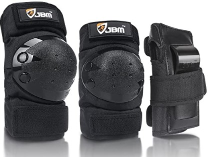 JBM Knee Pads Elbow Pads Wrist Guards