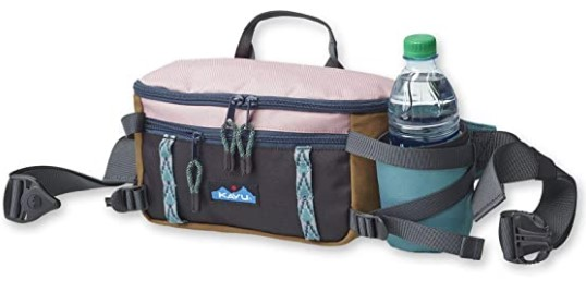 KAVU Washtucna Belt Bag Fanny Pack with Detachable Beverage Cooler