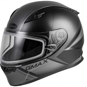Gmax FF-49S Hail Adult Snowmobile Helmet