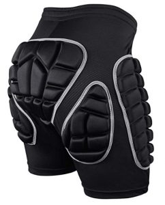 Protection Hip 3D Padded Shorts Breathable Protective Gear