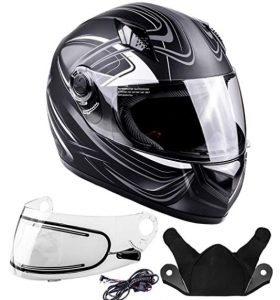 Typhoon Helmets Adult Full Face Snowmobile Helmet