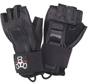 Triple Eight Hired Hands Skateboarding Wrist Guard Gloves