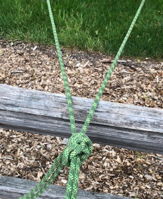 letter y rope for multiple stakes