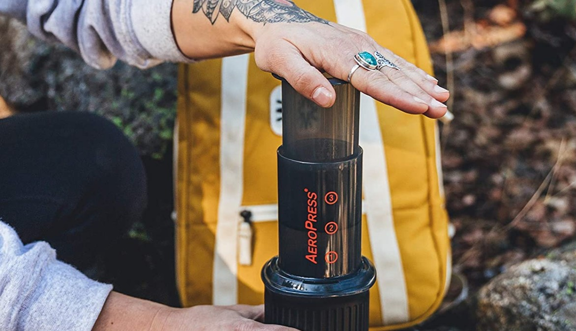 how to make great coffee when backpacking